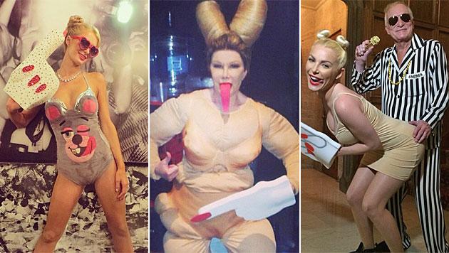 Die Stars gruseln sich heuer am liebsten vor Miley (Bild: Instagram)