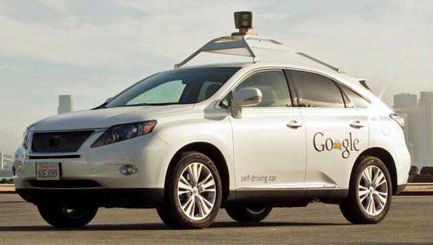 Googles Robo-Autos fahren besser als Menschen (Bild: Google)