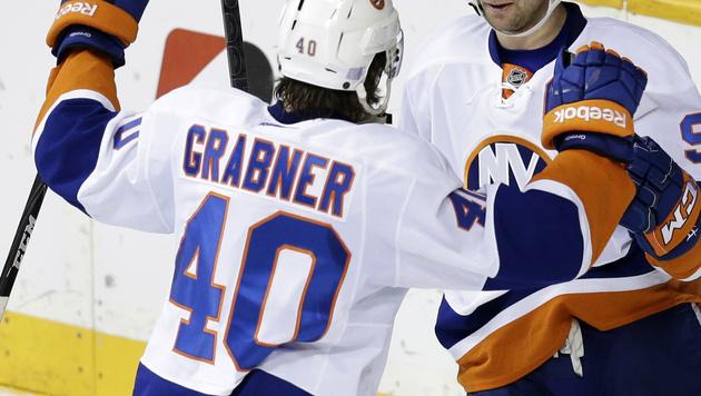 Grabner will mit Vanek den Stanley Cup gewinnen (Bild: AP)
