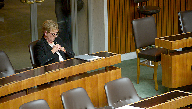 Harmonischer Auftakt zur neuen Legislaturperiode (Bild: APA/ROLAND SCHLAGER)