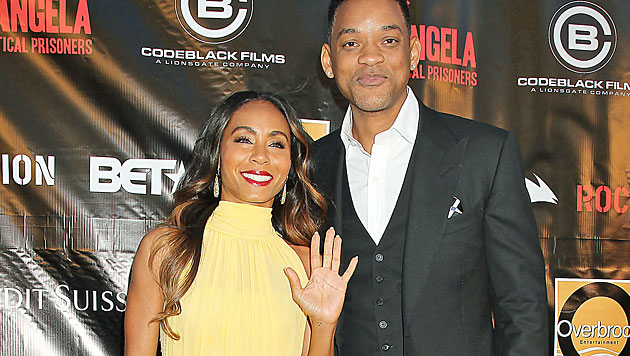Jada Pinkett Smith und Will Smith (Bild: AP)