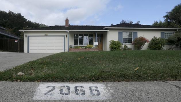 Elternhaus von Steve Jobs zum Denkmal erklärt (Bild: AP)