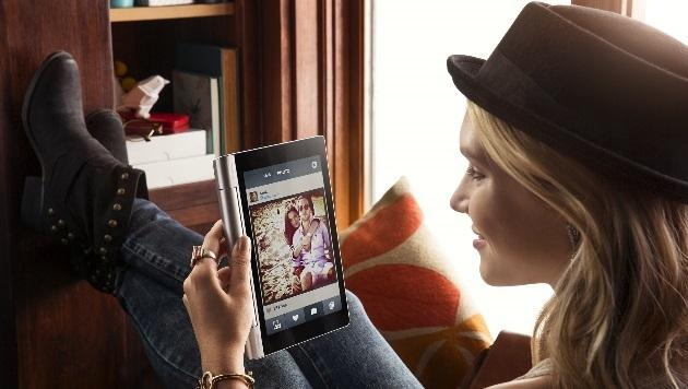 Griffiger Dauerläufer: Lenovos Yoga Tablet im Test (Bild: Lenovo)
