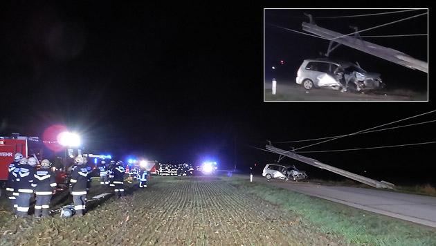 Autofahrer entgeht nur knapp tödlichem Stromstoß (Bild: Franz Resperger)