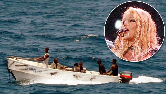 Britney-Spears-Hits vertreiben Piraten vor Somalia (Bild: EPA / picturedesk.com)