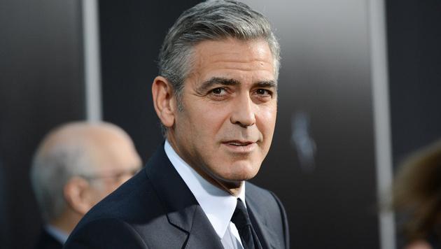 Heiratet George Clooney, verliert er 96.000 Euro (Bild: AP)
