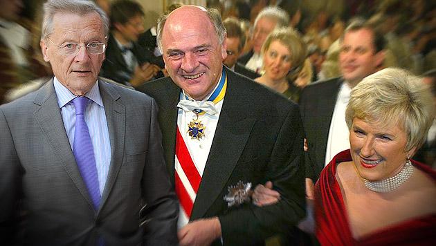 """Lindner: Von Pröll gehegt, von Schüssel """"gelegt"""" (Bild: APA/BARBARA GINDL,  APA/HANS KLAUS TECHT, krone.at-Grafik)"""