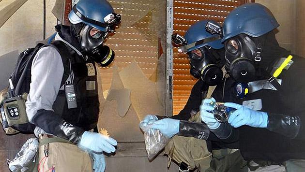 """""""Syrien-Regierung und IS setzten Chemiewaffen ein"""" (Bild: AP)"""