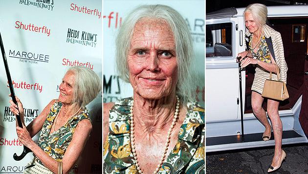 """Oma"" Heidi Klum feierte tolle Halloween-Party (Bild: AP, krone.at-Grafik)"