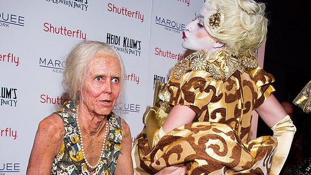 """Oma"" Heidi Klum feierte tolle Halloween-Party (Bild: Charles Sykes/Invision/AP)"