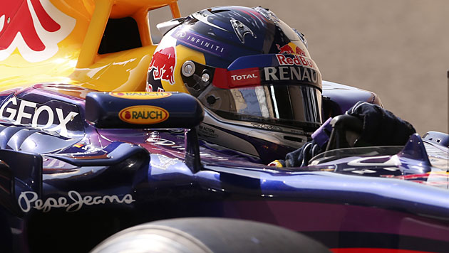 Vettel und Webber auch im 3. freien Training voran (Bild: AP)