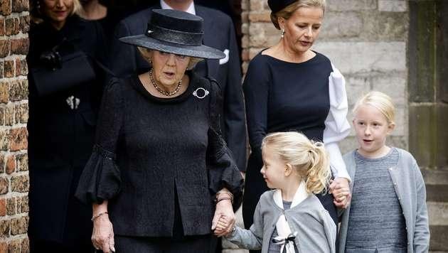 Niederländische Königsfamilie gedachte Prinz Friso (Bild: AFP)