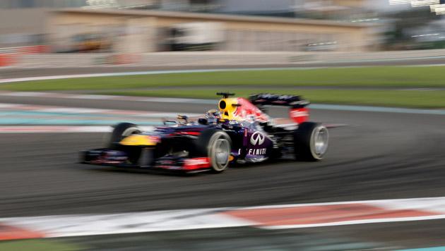 Vettel gewinnt GP von Abu Dhabi vor Webber (Bild: AP)