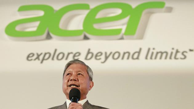 Acer streicht nach Verlusten 7 Prozent der Stellen (Bild: AP)