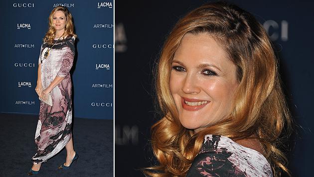 Drew Barrymore erwartet ihr zweites Baby (Bild: AP)