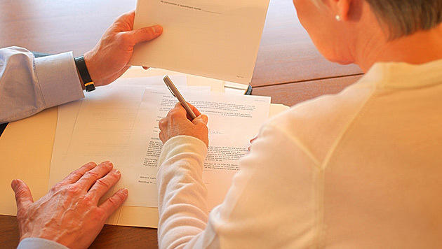 Eine Lebensversicherung mit Haken (Bild: thinkstockphotos.de)
