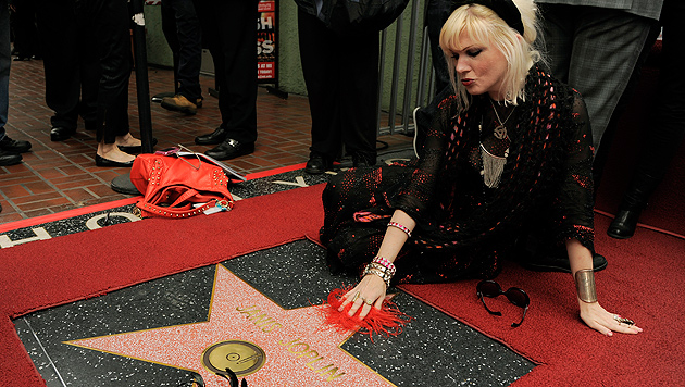 Janis Joplin erhielt posthum einen Hollywood-Stern (Bild: EPA)