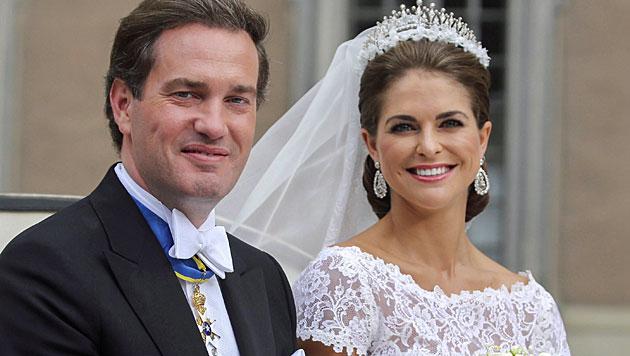 Prinzessin Madeleine ist wieder schwanger (Bild: EPA)