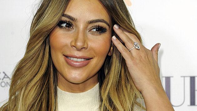 Kim Kardashian: 14 Mal pro Tag auf der Waage (Bild: AP)