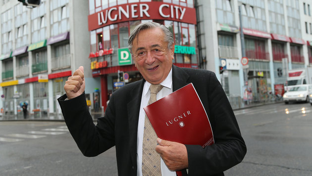 Richard Lugner tritt bei Pr�sidentenwahl an (Bild: Peter Tomschi)