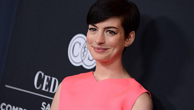 Seit 2012 ist Anne Hathaway mit Adam Shulman verheiratet. (Bild: AP)