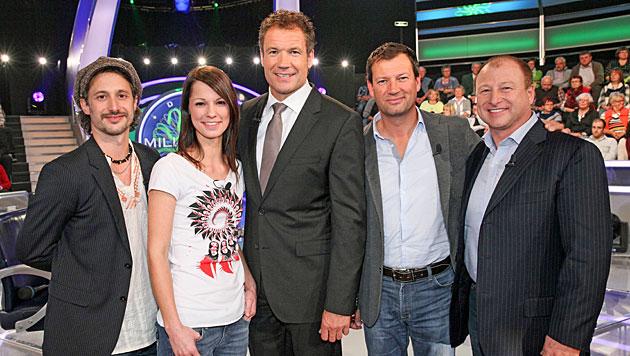 """""""Krone"""" backstage bei der """"Promi-Millionenshow"""" (Bild: ORF/Milenko Badzic)"""