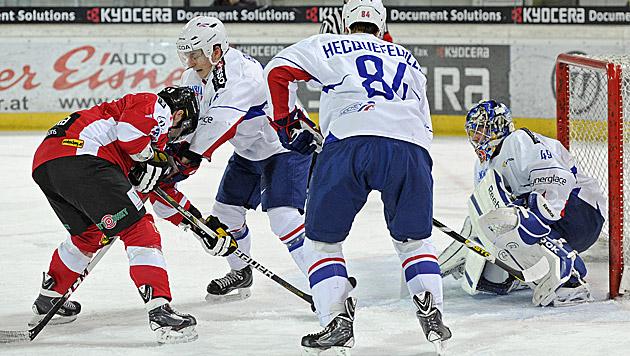 Österreich verliert gegen Frankreich klar mit 1:3 (Bild: APA/Robert Parigger)