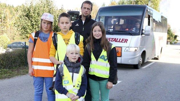 Bub (7) darf in Schulbus nicht mehr mitfahren (Bild: Daniel Scharinger)