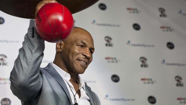Ex-Champion Mike Tyson feiert 50. Geburtstag (Bild: AP)