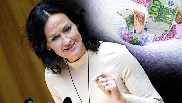"""Glawischnig: """"Fekter hat offenbar gelogen"""" (Bild: APA/GEORG HOCHMUTH, thinkstockphotos.de, krone.at-Grafik)"""