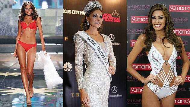"Venezolanerin zur ""Miss Universe 2013"" gekürt (Bild: AP, EPA)"