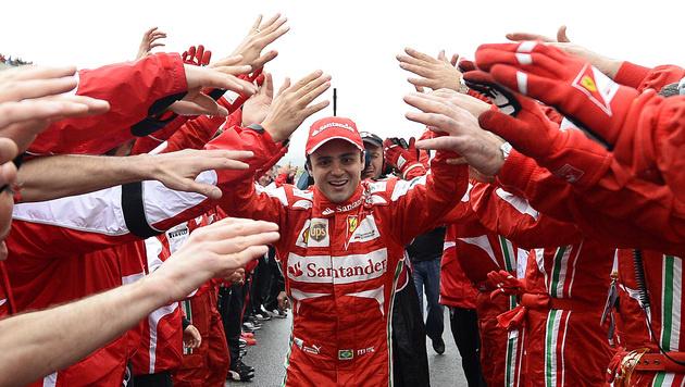 """""""Sekunden-Weltmeister"""" Massa tritt von der Bühne (Bild: AP)"""