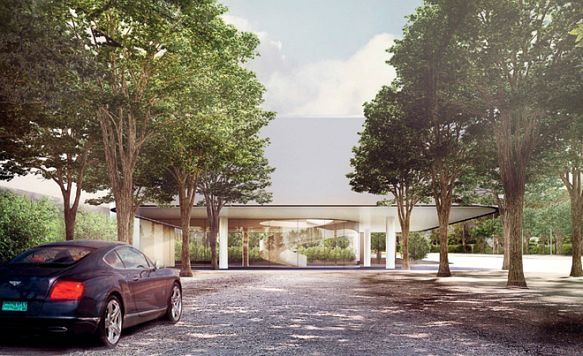 """Apple zeigt das Innere seines """"Raumschiffs"""" (Bild: Blick auf das neue Besucherzentrum)"""