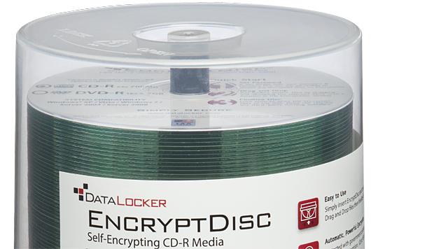 EncryptDisc: Speichermedium mit Verschlüsselung (Bild: Origin Storage)