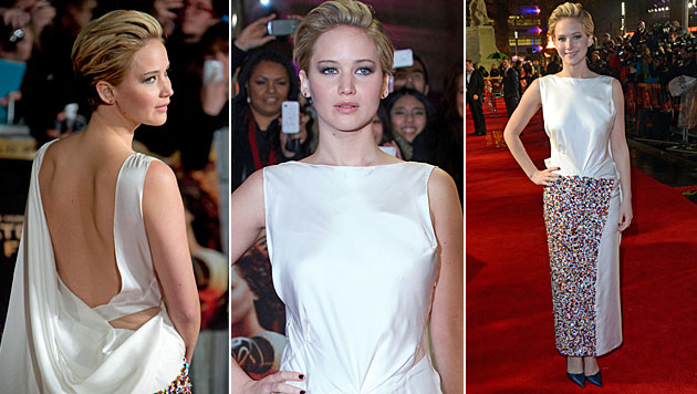 Knallhartes Work-out für Jennifer Lawrence (Bild: AP, AFP)