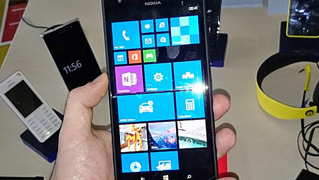 Lumia 1520: Nokias Riesen-Smartphone ausprobiert (Bild: Dominik Erlinger)