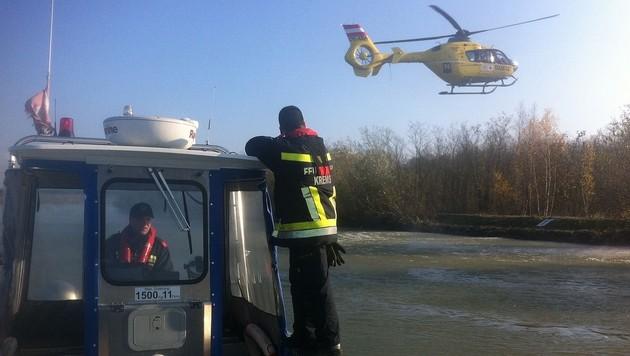 Mann ertrinkt in Donau in NÖ - Leiche geborgen (Bild: APA/FF KREMS/M.FASCHING)