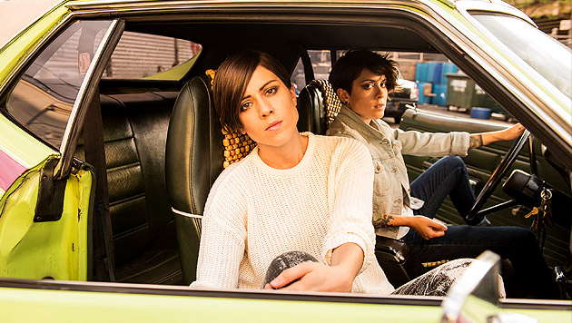 """Tegan And Sara: """"Können keine Skandale anbieten"""" (Bild: Warner Music)"""
