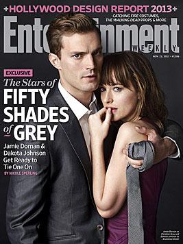 """Fifty Shades""-Stars: Sexszenen waren harte Arbeit (Bild: Entertainment Weekly)"