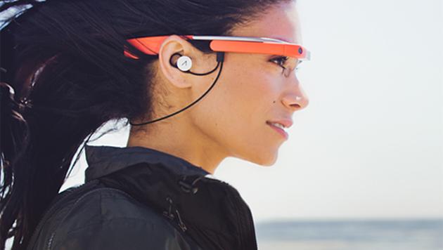 Google Glass bekommt Musikfunktion spendiert (Bild: Google)