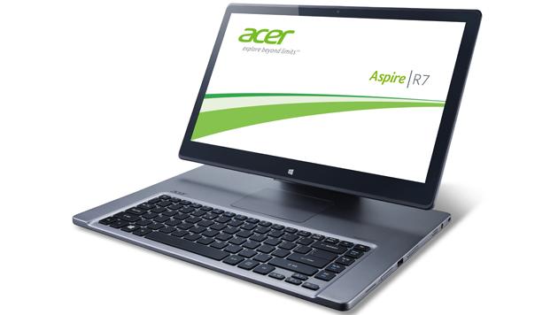 Microsoft zeigte neue Vielfalt der Windows-Geräte (Bild: Acer Aspire R7 - Quelle: Acer)