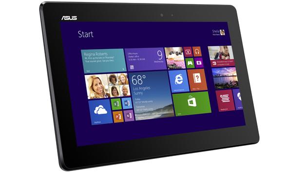 Microsoft zeigte neue Vielfalt der Windows-Geräte (Bild: Asus Transformer Book T100 - Quelle: Asus)