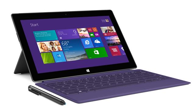 Microsoft zeigte neue Vielfalt der Windows-Geräte (Bild: Microsoft Surface Pro 2 - Quelle: Microsoft)