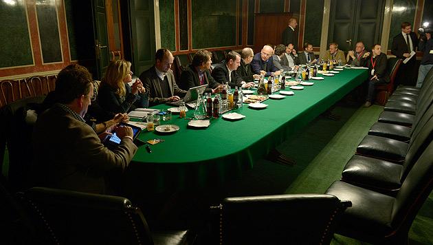 Verhandlungsdauer bald über dem Durchschnitt (Bild: APA/ROLAND SCHLAGER)