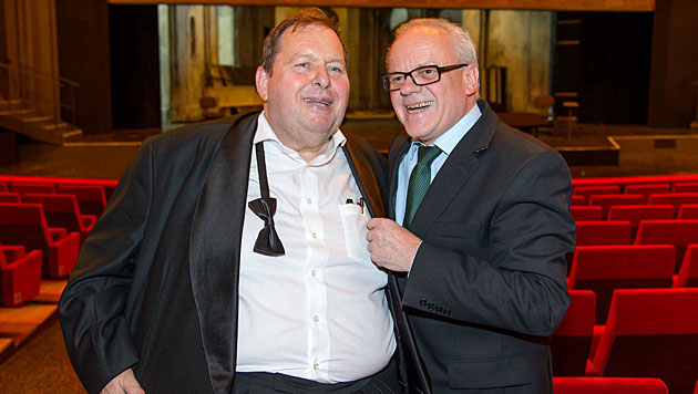 """Bulle"" Fischer feierte Premiere & 60er in Wien (Bild: Alexander Tuma)"