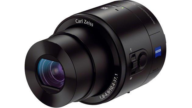 QX10 & QX100: Sonys Smartshot-Kameras im Test (Bild: QX100 - Quelle: Sony)