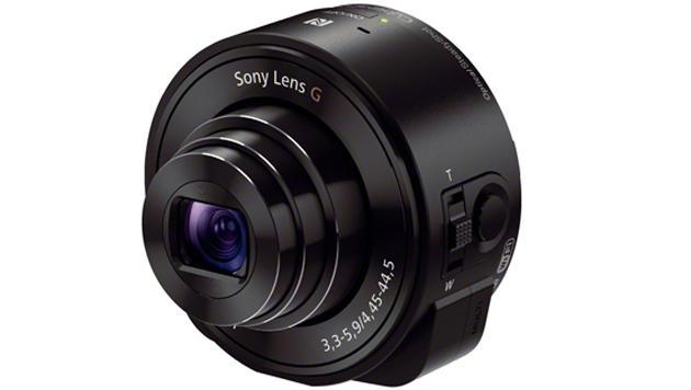 QX10 & QX100: Sonys Smartshot-Kameras im Test (Bild: QX10 - Quelle: Sony)