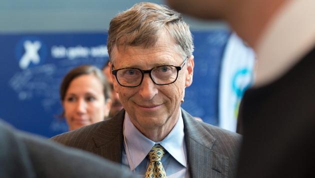Bill Gates, der reichste Mensch der Welt (Bild: EPA)