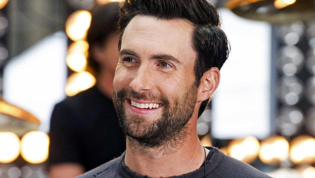 """Ist Adam Levine der """"Sexiest Man Alive"""" 2013? (Bild: AP)"""