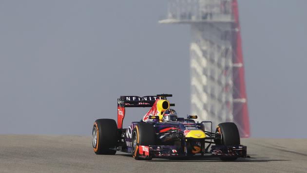 Weltmeister Vettel am Freitag Tagesschnellster (Bild: AP)